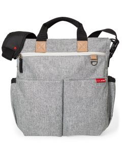 Skiphop Hoitolaukku Duo Signature, Grey Melange