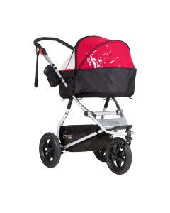 MountainBuggy Urban Jungle/Terrain/+One Carrycot Plus Sadesuoja