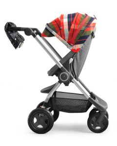 Stokke Scoot Winterkit Talvisetti, Flannel Red