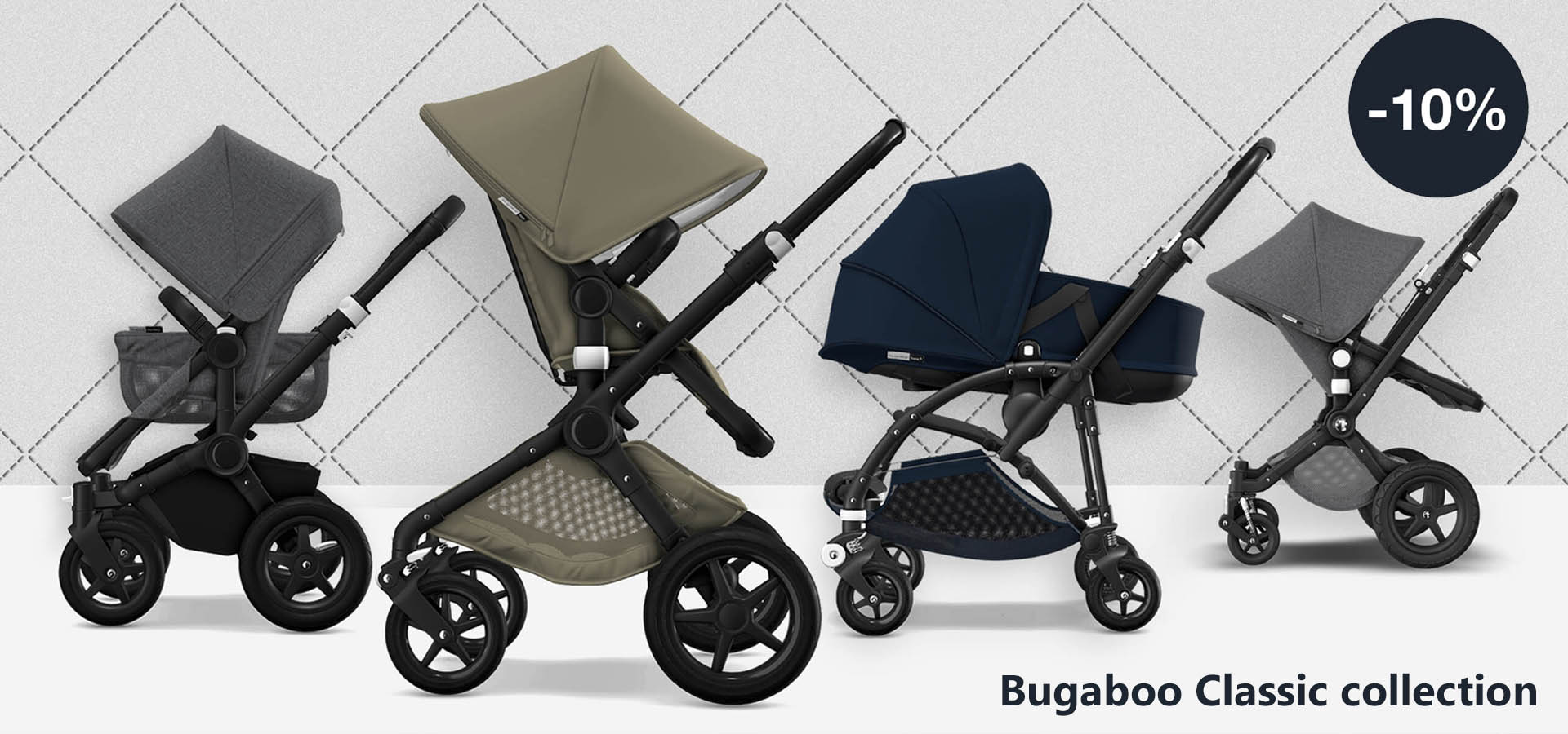 Bugaboo Classic collection -10%