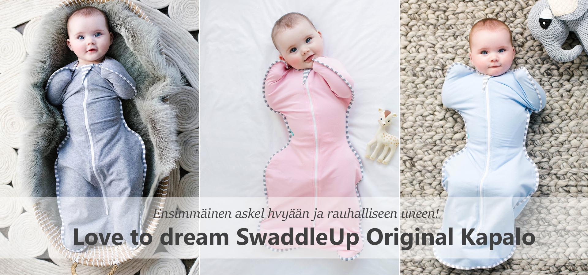 Love to Dream SwaddleUp Kapalo - Vaunu-aitta